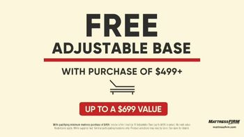Mattress Firm Labor Day Preview Sale TV Spot, 'Adjustable Base' - Thumbnail 6
