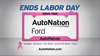 AutoNation 72 Hour Flash Sale TV Spot, 'Labor Day: 2018 and 2019 Ford Models' - Thumbnail 6