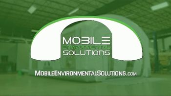 Mobile Environmental Solutions Portable Paint Booths TV Spot, 'In Minutes' - Thumbnail 9