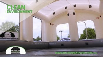 Mobile Environmental Solutions Portable Paint Booths TV Spot, 'In Minutes' - Thumbnail 5