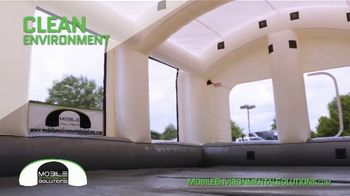 Mobile Environmental Solutions Portable Paint Booths TV Spot, 'In Minutes' - Thumbnail 6