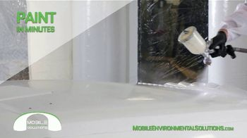 Mobile Environmental Solutions Portable Paint Booths TV Spot, 'In Minutes' - Thumbnail 8