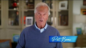 Relief Factor TV Spot, 'Struggling With Pain: Linda' Featuring Pat Boone - 7 commercial airings