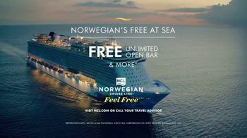 Norwegian Cruise Line Free at Sea TV Spot, 'Come Aboard and Feel Alive' - Thumbnail 9