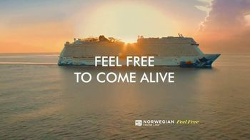 Norwegian Cruise Line Free at Sea TV Spot, 'Come Aboard and Feel Alive' - Thumbnail 2