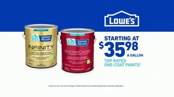 Lowe's TV Spot, 'Do It Right: HGTV Home One-Coat Paints' - Thumbnail 7