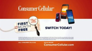 Consumer Cellular TV Spot, 'Real People: First Month Free: Plans $15+ a Month' - Thumbnail 8