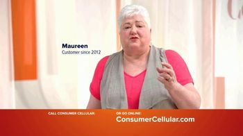 Consumer Cellular TV Spot, 'Real People: First Month Free: Plans $15+ a Month'