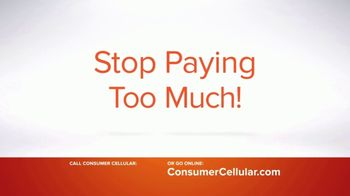 Consumer Cellular TV Spot, 'Real People: First Month Free: Plans $15+ a Month' - Thumbnail 4