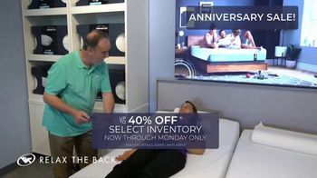Relax the Back Anniversary Sale TV Spot, 'Up to 40 Percent' - Thumbnail 5