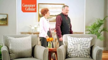 Consumer Cellular TV Spot, 'Keeping It Real: First Month Free: Plans $15+ a Month' - Thumbnail 1