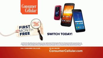 Consumer Cellular TV Spot, 'Keeping It Real: First Month Free: Plans $15+ a Month' - Thumbnail 7