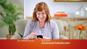 Consumer Cellular TV Spot, 'Keeping It Real: First Month Free: Plans $15+ a Month' - Thumbnail 3