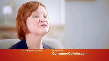 Consumer Cellular TV Spot, 'Keeping It Real: First Month Free: Plans $15+ a Month' - Thumbnail 4