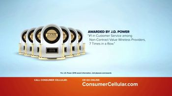 Consumer Cellular TV Spot, 'Keeping It Real: First Month Free: Plans $15+ a Month' - Thumbnail 6