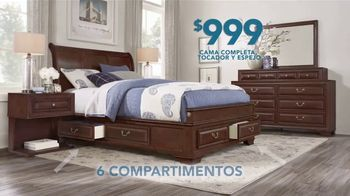 Rooms to Go TV Spot, 'El día del trabajo: dormitorio' [Spanish]