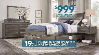 Rooms to Go TV Spot, 'El día del trabajo: dormitorio' [Spanish] - Thumbnail 5