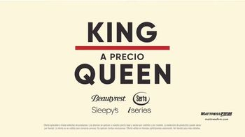 Mattress Firm Preventa de Labor Day TV Spot, 'King a precio Queen' [Spanish] - Thumbnail 2