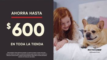 Mattress Firm Preventa de Labor Day TV Spot, 'King a precio Queen' [Spanish] - Thumbnail 4