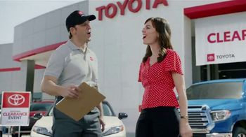Toyota National Clearance Event TV Spot, \'Duet\' [T1]