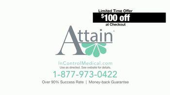 InControl Medical Attain TV Spot, 'Bathroom Rush: $100 Off' - Thumbnail 8