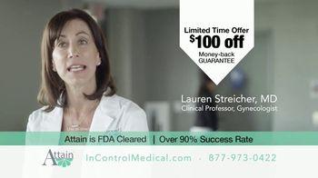 InControl Medical Attain TV Spot, 'Bathroom Rush: $100 Off' - Thumbnail 6