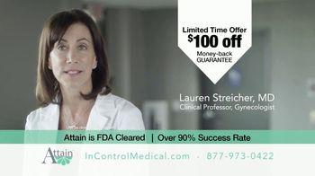 InControl Medical Attain TV Spot, 'Bathroom Rush: $100 Off' - Thumbnail 7
