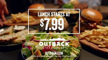 Outback Steakhouse Steak & Unlimited Shrimp TV Spot, 'More Than You Imagined: Lunch' - Thumbnail 9