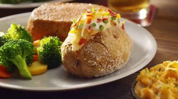 Outback Steakhouse Steak & Unlimited Shrimp TV Spot, 'More Than You Imagined: Lunch' - Thumbnail 6