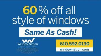 Window Nation TV Spot, 'Over 150,000 Windows: 60% Off' - Thumbnail 6