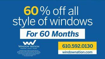 Window Nation TV Spot, 'Over 150,000 Windows: 60% Off' - Thumbnail 5