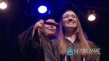 Notre Dame College TV Spot, 'You've Come So Far' - Thumbnail 1