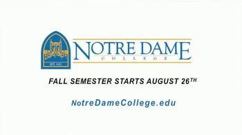 Notre Dame College TV Spot, 'You've Come So Far' - Thumbnail 9