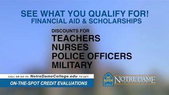 Notre Dame College TV Spot, 'You've Come So Far' - Thumbnail 4