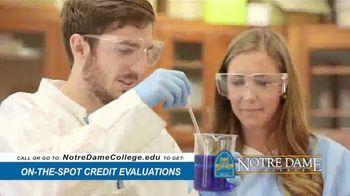 Notre Dame College TV Spot, 'You've Come So Far' - Thumbnail 6