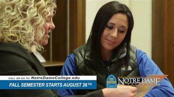 Notre Dame College TV Spot, 'You've Come So Far' - Thumbnail 7