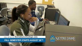 Notre Dame College TV Spot, 'You've Come So Far' - Thumbnail 8