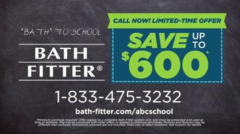 Bath Fitter Bath to School TV Spot, 'Call Now Before the Late Bell Rings' - Thumbnail 9