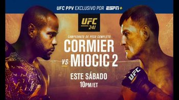 ESPN+ TV Spot, 'UFC 241: Cormier vs. Miocic' [Spanish] - 50 commercial airings