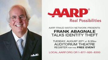 AARP Services, Inc. TV Spot, 'Frank Abagnale Talks Identity Theft'