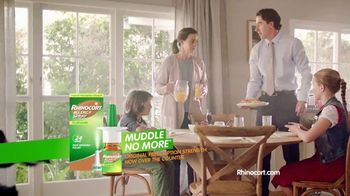 Rhinocort Allergy Spray TV Spot, 'Morning Confusion' - Thumbnail 8