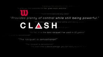 Tennis Warehouse TV Spot, 'Wilson Clash Racquet' - Thumbnail 6