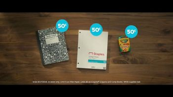 Staples TV Spot, 'Back to School: Crayola, Composition Books and Filler Paper' - Thumbnail 5