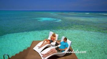 Sandals Resorts TV Spot, 'Five-Star Luxury Included Vacation' - Thumbnail 5