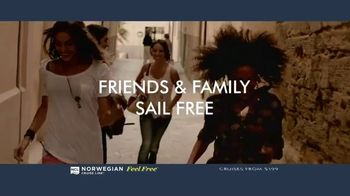 Norwegian Cruise Line Free at Sea TV Spot, 'Free Offers: $199'