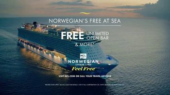 Norwegian Cruise Line Free at Sea TV Spot, 'Free Offers: $199' - Thumbnail 8