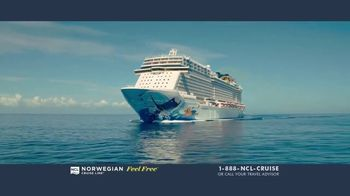 Norwegian Cruise Line Free at Sea TV Spot, 'Free Offers: $199' - Thumbnail 1