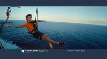 Norwegian Cruise Line Free at Sea TV Spot, 'Free Offers: $199' - Thumbnail 6