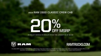 Ram Trucks Summer Clearance Event TV Spot, 'Win Over Fans' Song by Eric Church [T2] - Thumbnail 9