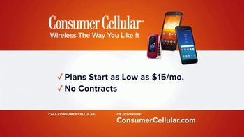 Consumer Cellular TV Spot, 'Anthem: First Month Free: Plans $15+ a Month' - Thumbnail 7